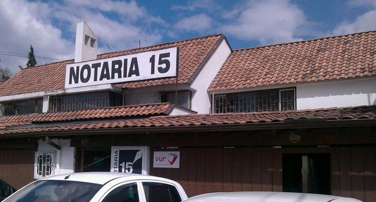 notaria 15 bogota