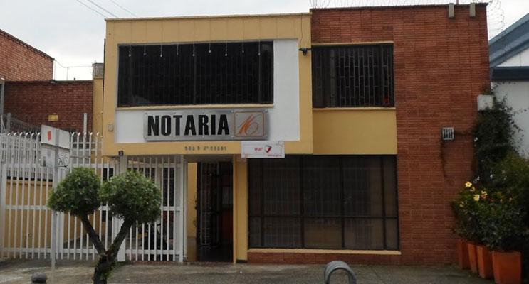 notaria 16 bogota