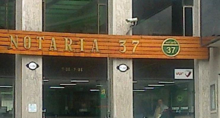notaria 37 bogota