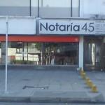 notaria 45 bogota