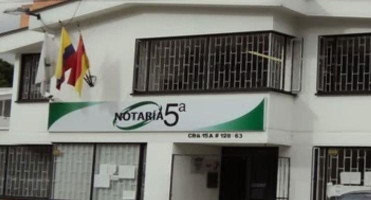 notaria 5 bogota