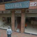 Notaria 70 Bogota