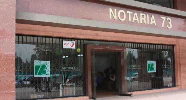 notaria 73 bogota