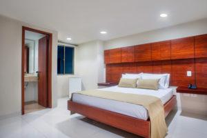 Habitación Hotel MS un hotel en Barranquilla.