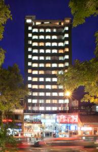 Hotel en el centro de Bogotá Dann- fachada de Hotel Dann Avenida 19