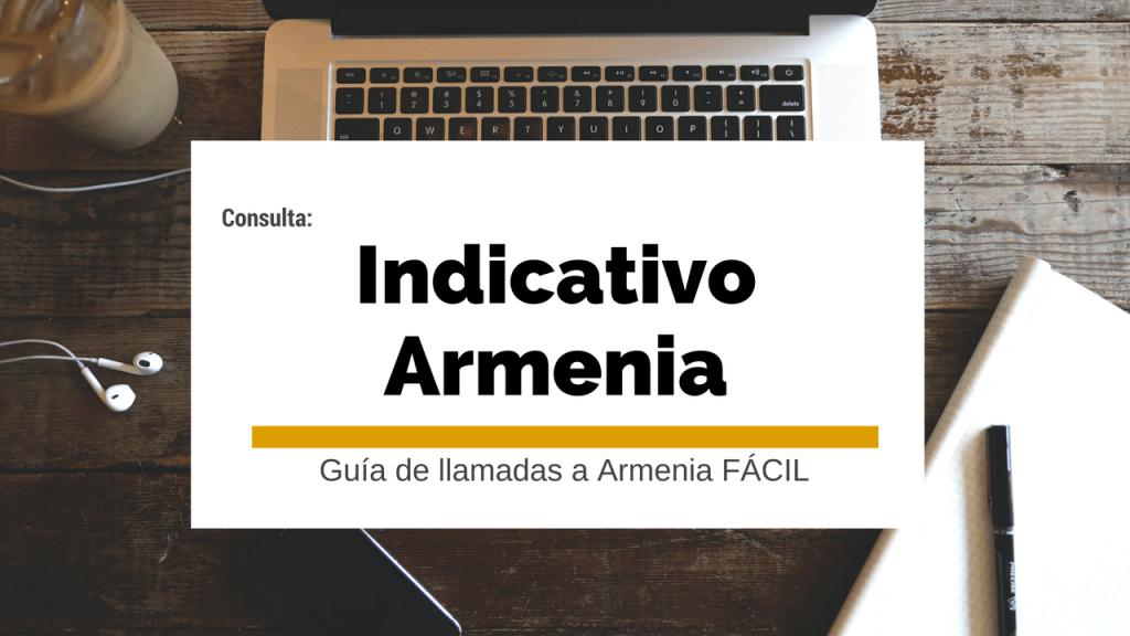 indicativo armenia