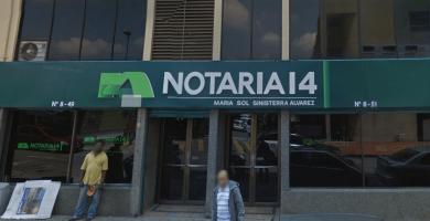 notaria 14 cali
