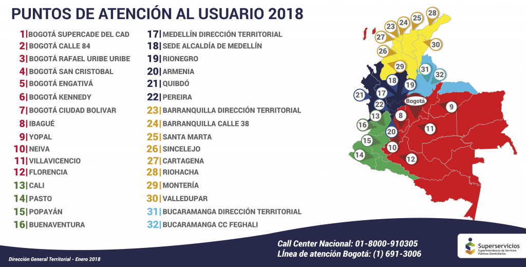 mapa de atencion superservicios